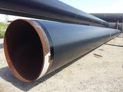 Гидроизоляция трубопровода,  ВУС изоляция